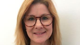 Anna-Carin Mähler Sandstedt, skolsköterska och pristagare av Galderma Nordics aknestipendium för 2018.