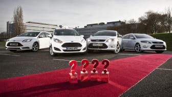 Ford kammar hem rekordmånga priser från köpguiden What Car?