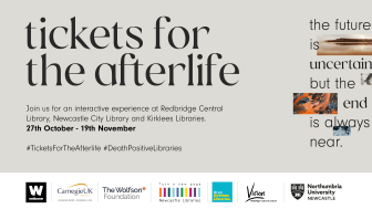 Tickets for the Afterlife is the latest event in the Death Positive Libraries project..png