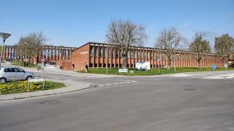 Næshøj Skolen i Harlev hvor SPS Primær er anvendt