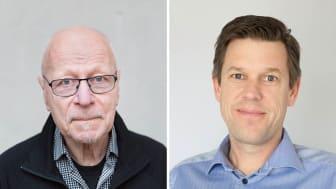 Sven-Erik Alhem och Fredrik Mellqvist. Foto: Therese Wiberg.