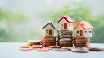 Selvom boligpriserne er steget pænt de seneste mange måneder, er prisudviklingen i Danmark stadig moderat sammenlignet med de øvrige EU-lande. Foto: Shutterstock. Alle rettigheder forbeholdt.