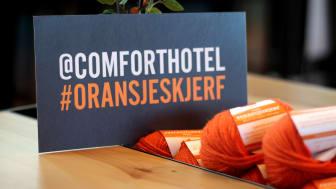 Comfort Hotel strikket for et varmere samfunn