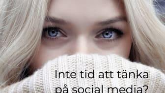 Social media inlägg på internet.