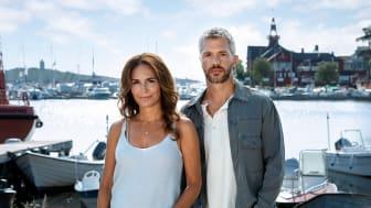 Alexandra Rapaport og Nicolai Cleve Broch danner nyt makkerpar i krimiserien Mord i skærgården sæson 7, der får premiere på C More den 3. august.