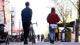 Informationskampanj för tryggare gång- och cykelvägar
