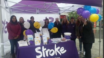 Stroke Association Makes May Purple in Liverpool