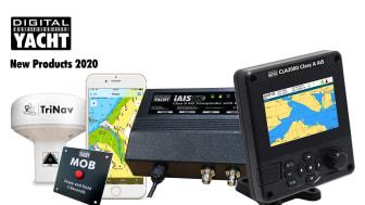 New products including iAISTX, CLA2000 and the GPS150 TriNav sensor