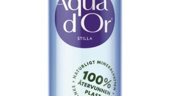 Aqua d'Or flaska av 100% återvunnen PET