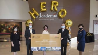 Voucher Presentation Ceremony with SingHealth at Academia