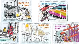 Styrsöbolagets fartyg Fröja pryder nya Sverigefrimärken