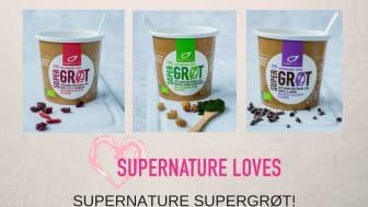 Supernature loves Supergrøt!