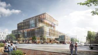 Startskuddet til forandring   Arkitema Architects vinder konkurrencen om 950 kommunale arbejdspladser i Gellerup
