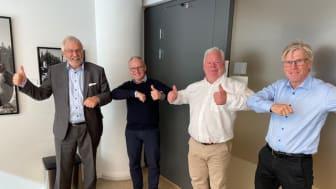Anders Bredesen, Midroc, Oddvar Ring och Mathis Mathiesen, Electro-Specialisten, Björn Wigström, Midroc