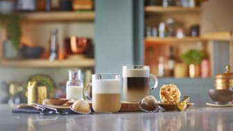 NYHET: Barista Creations - Nespresso lanserar kaffe perfekt utformat för mjölk och vegetabiliska mjölkalternativ