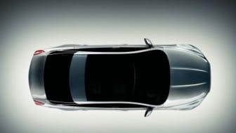Första bilderna på Jaguars nya toppmodell XJ
