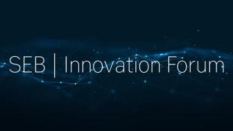 SEB Innovation Forum hålls digitalt tisdagen den 18:e maj, kl. 16:00-18:00.
