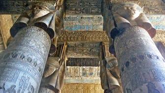Kulturtagung ‹Der Atem Ägyptens› (Motiv: Decke von Dendera, Foto: Bruno Sandkühler)