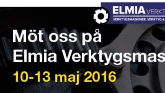 Solectro ställer ut på ELMIA Verktygsmaskiner 2016, 10-13 Maj, Vi ser fram emot att få träffa er i vår monter!