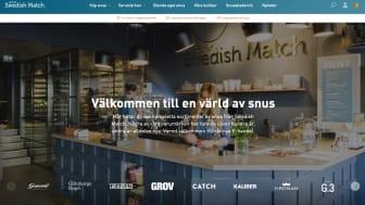 Går online: Swedish Match viderefører suksessen med fysiske butikker til egen netthandel. Skjermdump.