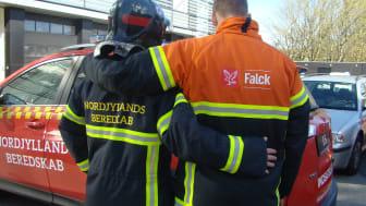 Nordjyllands Beredskab og Falck har indgået samarbejde frem til 2028.