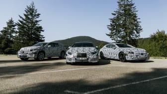 Seks nye elektriske modeller fra Mercedes-Benz på vej