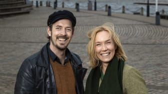 Simon Ljungman och Victoria Brattström