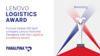 Panalpina honored with Lenovo Logistics Award
