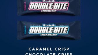 Barebells Double Bite i två olika smaker