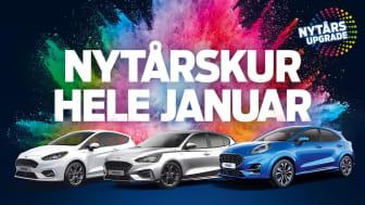 Ford udvider nytårskuren – lange åbningstider og tilbud på Fiesta, Puma og Focus