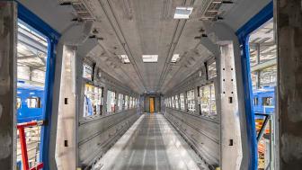 East Coast Trains interior shell