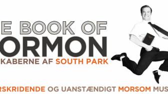 THE BOOK OF MORMON har solgt 50.000 billetter!
