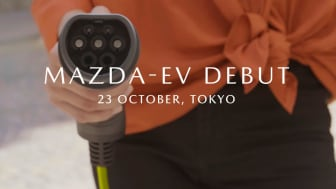 Mazda presenterer elbil i Tokyo