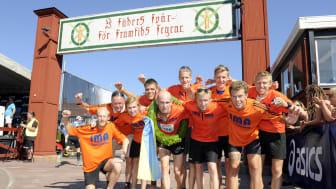 För femte året i följd vann Idrottsarrangören Mats Andreassons lag Vasastafettens herrklass