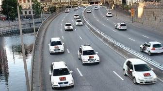 Securitas har påbörjat arbetet att miljöanpassa till fordon som drivs med el, vätgas och HVO.