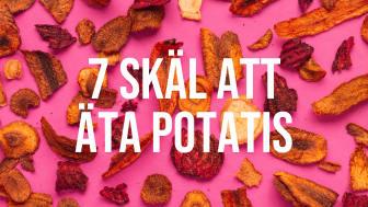 7 skäl att äta potatis