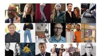 2019 års finalister i Habit Modegalan