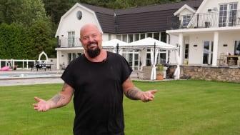 Anders Bagge är Schneider Electrics nya ambassadör. Målet är att göra hans hem till ett av Sveriges smartaste hus.