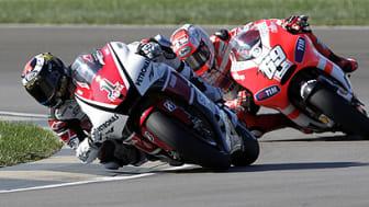 MotoGP på Viasat Motor: Kan Valentino Rossi slå tilbake i regnet på Silverstone?