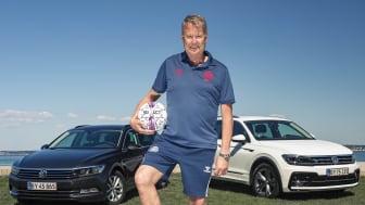 Volkswagen leverer bl.a. biler til Åge Hareide og fodboldlandsholdet