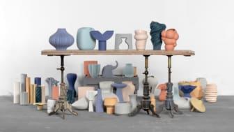 Die Vasenkollektion Sixty&Twelve feiert den 60. Geburtstag der Rosenthal studio-line.