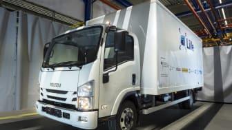 """Erstes batterieelektrisches Nutzfahrzeug mit 7,5t Gesamtgewicht im Forschungsprojekt """"LiVe"""" am PEM der RWTH Aachen"""