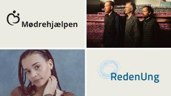 Sanger, sangskriver og producer Erika de Casier - foto: Dennis Morton. Kunstnergruppen Superflex - foto: Ulrik Jantzen/Büro Jantzen