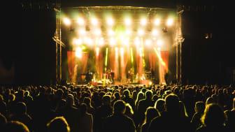 Hx-festivalens stora scen. Fotograf: Niklas Lydeén.