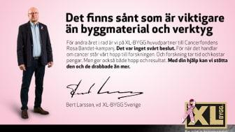 XL-BYGG gör byggbranschen rosa i oktober