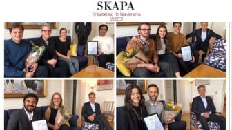 Prisutdelning för SKAPA länsfinalister 2020!