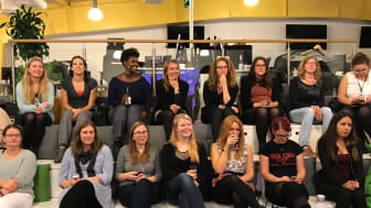 Fullt hus när Telavox bjöd in till nätverkskväll för kvinnor
