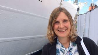 Mari-Louise Persson, energistrateg på Riksbyggen