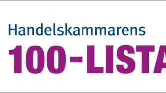 Handelskammarens 100-lista logo