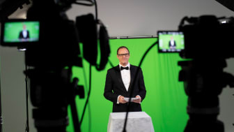 Felix Burda Award 2021: Vince Ebert im Green Screen